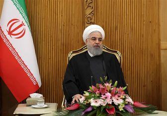 روحانی در مهرآباد: در کنار مردم عراق هستیم