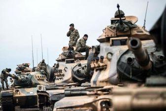ترکیه به شدت عفرین و اطراف آن را بمباران کرد