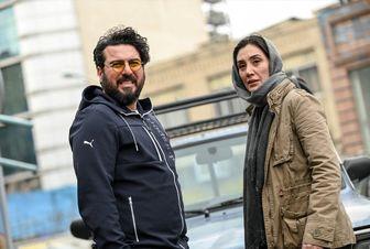 سلفی «محسن کیایی» و «هدیه تهرانی» در ماشین لاکچری شان