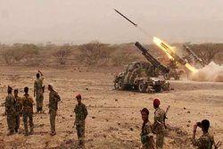 شلیک ۳ فروند موشک ارتش یمن به مواضع مزدوران و متجاوزان