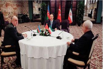 آغاز ششمین نشست 3 جانبه وزرای خارجه ایران،ترکیه و آذربایجان