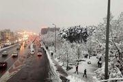 هوای کشور برفی میشود