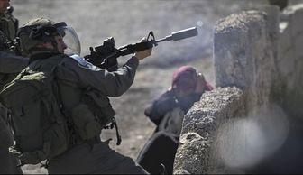 مجروح شدن چند جوان فلسطینی در اطراف غزه