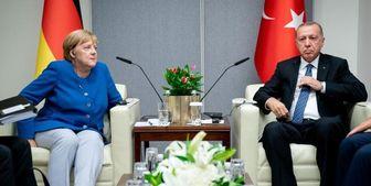 گفتوگوی مجازی رئیس جمهور ترکیه با صدر اعظم آلمان