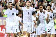 بازی ملی پوشان ایران با تیم ملی فوتبال فلسطین