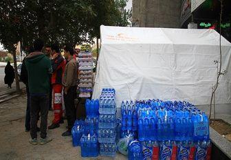 محمولههای امدادی به مناطق زلزلهزده توسط یگان ویژه اسکورت می شود