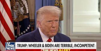 ترامپ: اگر من رئیسجمهور نبودم، در آمریکا شورش شده بود