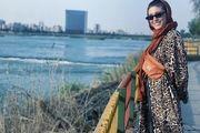 پیام احساسی همسر نوید محمدزاده برای پدرش /عکس