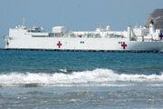 ابتلای خدمه ناو بیمارستانی نیروی دریایی ارتش آمریکا به کرونا