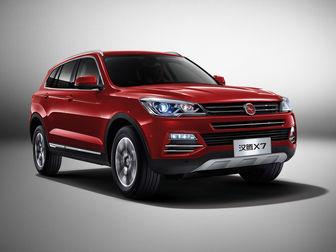 تجخیزات و مشخصات فنی خودرو جیلی امگرند X7 و بورگوارد BX7