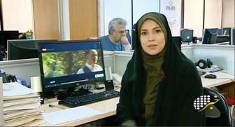 گوینده خوش حجاب تلویزیون درکنار دوستانش/ عکس