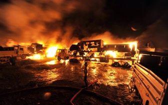 ۴۷ کشته و زخمی بر اثر انفجار تانکر حامل گاز مایع در کابل