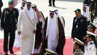 دلیل دعوت عربستان از امیر قطر