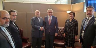 دیدار وزرای خارجه لهستان و استرالیا با ظریف
