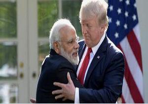 تمسخر لهجه نخست وزیر هند توسط ترامپ
