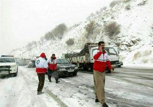 امداد رسانی به 410 نفر طی 72 ساعت گذشته