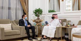 دیدار سعد الحریری با وزیرخارجه قطر