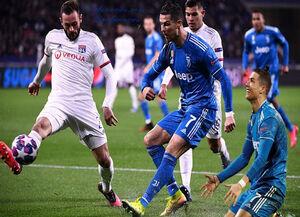 بازی یوونتوس و لیون در لیگ قهرمانان لغو شد