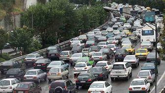 ترافیک سنگین در مسیرهای منتهی به بهشت زهرا
