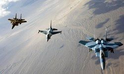 کشته شدن نظامیان افغانستانی توسط جنگنده های خارجی