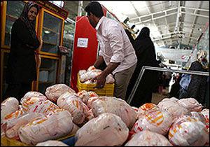 ثبات نرخ مرغ در ایام تاسوعا و عاشورا