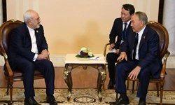 ظریف با نظربایف دیدار کرد+ عکس