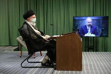 ارتباط تصویری نمایندگان مجلس با رهبر