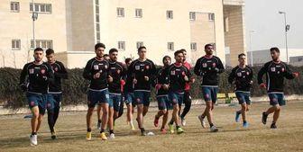 آخرین تمرین شاگردان گل محمدی پیش از بازی با پیکان