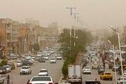 گرد و خاک در آسمان آبادان/ گزارش تصویری