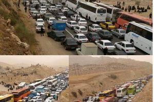 بازگشایی بخشی از گره ترافیکی جاده ایلام-مهران
