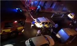 حمله یک خودرو به باشگاهی شبانه در انگلیس