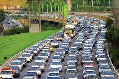 افزایش ترافیک صبحگاهی در معابر بزرگراهی