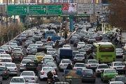 ترافیک صبحگاهی معابر بزرگراهی پایتخت در ۲۲ آبان ماه