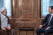 دیدار هیأت پارلمانی ایران با بشار اسد