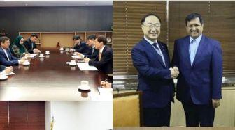 روابط بانکی ایران و کره جنوبی محور اصلی مذاکرات همتی