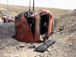 ۴ کشته و ۸ مجروح در تصادف تریلر با میدل باس