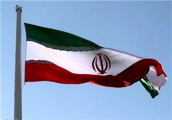 اهتزاز پرچم ایران در پالمبانگ