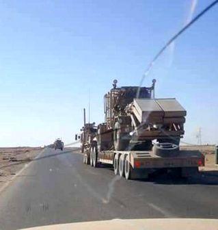 حضور نیروهای آمریکایی در گذرگاه مرزی القائم عراق به بهانه رصد تروریستها