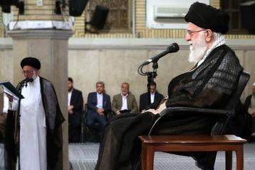 دیدار کارگزاران حج با رهبر انقلاب/ گزارش تصویری