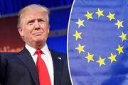 هشدار اتحادیه اروپا به دونالد ترامپ