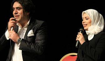 خانم محری پرحاشیه درکنار همسرِ مشهورش/ عکس