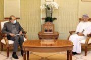 رایزنی خاجی با وزیر خارجه سلطنت عمان