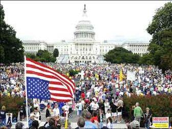 مردم آمریکا: آبروی ما در جهان رفته و احترامی نداریم