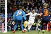 رئال به رده پنجم لیگ اسپانیا رسید
