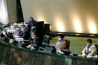 جلسه علنی مجلس برای لایحه بودجه سال ۱۴۰۰