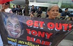 سخنرانی ۴۰۰هزار پوندی بلر و خشم تایلندیها