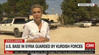 فرماندهان پایگاه آمریکایی در سوریه از مصاحبه طفره رفتند