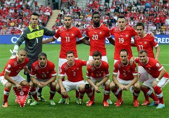 تیم ملی سوئیس مغلوب قطر شد