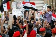 مردم سوریه در حمایت از «بشار اسد» تظاهرات کردند