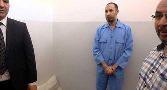 پسر قذافی از زندان آزاد شد